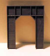 N SCALE: TIMBER SINGLE TUNNEL PORTAL  - FNA-3604