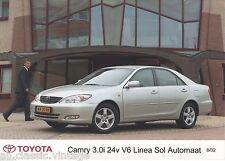 PRESS - FOTO/PHOTO/PICTURE - TOYOTA Camry 3.0i 24 V6 08/2002