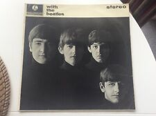 """THE BEATLES """"WITH THE BEATLES"""" CLASSIC LP  VG+ PLAYS GREAT """"MONEY"""" ETC STEREO"""