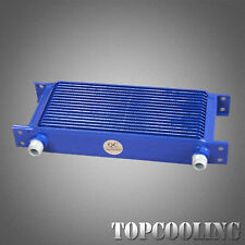 17 Row AN-10AN Universal Mocal Style Engine Transmission Oil Cooler Aluminum