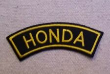 HONDA PATCH for VEST SHOULDER CREST JACKET MOTORCYCLE cafe racer BIKER