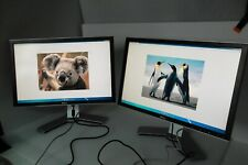 "LOT-2 Dell 2407WFP-HC Widescreen LCD Monitor 24"" w/4-Port USB Hub VGA DVI GM504"