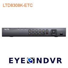 LTD8308K-ETC 8CH 5MP /1080P  H.265+ LTS Platinum Pro HD-TVI HD-CVI AHD SD IP DVR