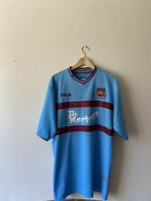 West Ham United Away 2000/01 Football Shirt Dr Martens XXL