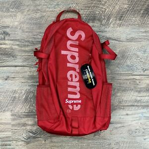Supreme Dark Red SS20 Mesh Backpack