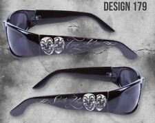 SMILE NOW CRY LATER CLOWNS CITY LOCS SUNGLASSES CHOPPERS CHICANO RAP SHADES