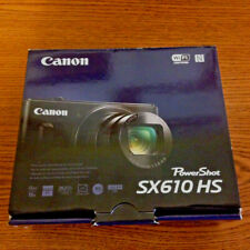 New Canon PowerShot SX610 HS 20.2MP Digital Camera BLACK