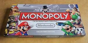 Monopoly Nintendo Collectors Edition Board Game