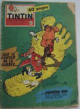 JOURNAL TINTIN N°533 OUMPAH PAH /JARI/JACOBS/DAN COOPER 1959 BON ETAT