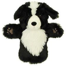 PLUSH SOFT TOY Puppet Company 8006 Black & White Border Collie Dog HAND PUPPET