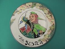 "1960-74 Royal Doulton ""The Jester "" Character Plate Tc1044 * Minty Condition *"