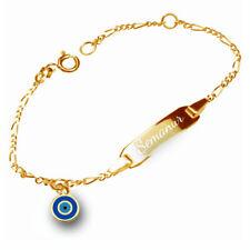 925er Sterling Silber Made in Germany /&Gravur Kinder Taufe Singapur  Armband