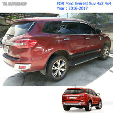 For Ford Everest 4x4 Suv 2.2 3.2 2016 2017 Body Cladding Side 4 Door Matte Black