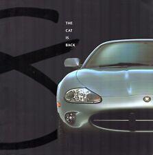 Jaguar XK Series 1996 UK Market Sales Brochure XK8 Coupe Convertible