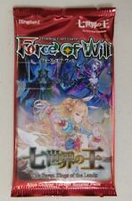 1x Force Of Will FoW The Seven Kings of the Lands Booster Pack FREE SHIPPING