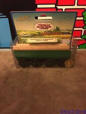 Thomas Wooden Railway Henry's Forest Log Car 1996 New In Box!