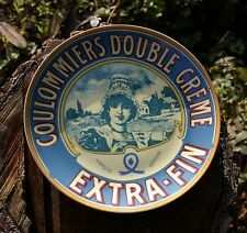 French Cheese Plate Coulommier Double Creme Extra-Fin Paris BIA Cordon Bleu 2004
