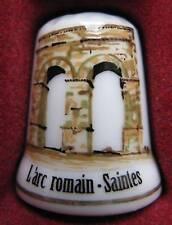 Dé à coudre Arc Romain Saintes Thimble Fingerhut #4
