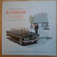 AMC Rambler Classic 1961 large prestige brochure - American Motors Corp