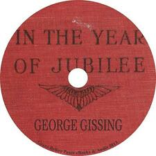 In the Year of Jubilee, George Gissing Queen Victoria Audiobook on 1 MP3 CD