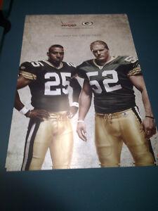 CLAY MATTHEWS RYAN GRANT Poster 20x30 GB Packers 2011 huge advertisment