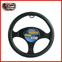 Coprivolante similpelle mod. CLUB – mis. M Ø 37/39 cm – nero - Alfa Romeo MiTo