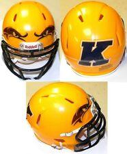 Kent State Golden Flashes GOLD Riddell Football Revolution SPEED Mini Helmet