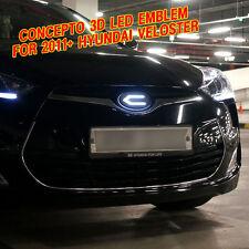 CONCEPTO LOGO LED EMBLEM BADGE SET FRONT / REAR SET for 2011+ HYUNDAI VELOSTER
