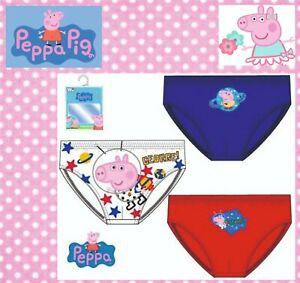Peppa Pig Wutz Jungen Jungs 3er Set Unterhose Unterwäsche Kinder Disney 2-8Jahre