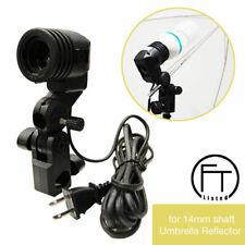 Photography Photo Studio Video Light Lamp Bulb Single Holder E27 Socket Bracket