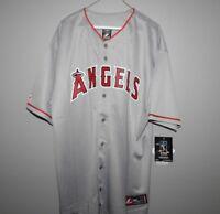 Majestic Big & Tall Los Angeles Angels PUJOLS Baseball Jersey New Mens Sizes