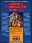 ZOOBILEE ZOO__Original 1986 Trade print AD__TV series promo__BEN VEREEN_Hallmark