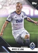 2019 Topps MLS #107 Marcel de Jong Vancouver Whitecaps FC