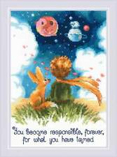 """Counted Cross Stitch Kit RIOLIS 1861 - """"The Little Prince"""""""