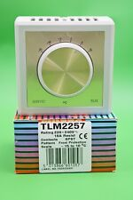 Sunvic TLM2257 Frost Protection Room Thermostat 16A SPST -15 to 10°C 220-240V