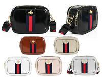 Women's Designer Style Bee Crossbody Messenger Bag Ladies Party Shoulder Handbag