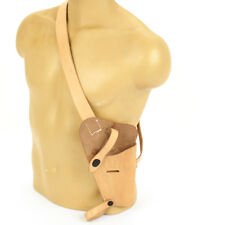 U.S. WWII M3 Natural Tan Leather Shoulder Holster- WWII Dated