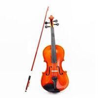 1/8 Größe Akustische Violine Mit Feinem Bogen Kolophonium Für Alter 3-6 M8V F7H4
