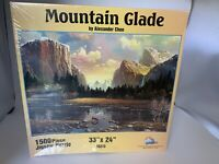 1500 piece jigsaw Puzzle Mountain Glade Sunsout new sealed Suns Out