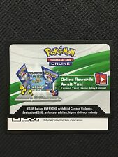 Pokemon Mythical Collection Volcanion Box TCGO Online Code