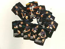 2010 Rugby League Champions set of 12 die cut foil cards Penrith Panthers