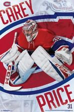 Carey Price FOCUS Montreal Canadiens Goalie NHL Hockey Action Poster (2017)