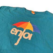Enjoi Umbrella Tee T Shirt 2000s Turquoise Size XL Men's Skate
