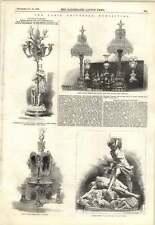 1855 Parigi esposizione Minton francese in vetro fabbricazione