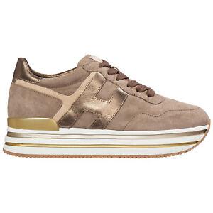 Hogan sneakers women midi platform HXW4830CB80Q250QYG Pelle shoes trainers