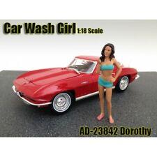 American Diorama 1:18 Scale (10 cm) Figure - Car Wash Girl - Dorothy # AD-23842