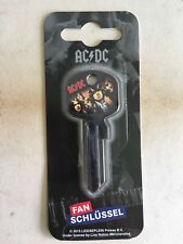 ACDC Fanschlüsselrohling Fan Schlüssel Rohling Rock Musik AC/DC Angus Young