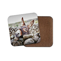 Cute Donkey Coaster - Horse Funny Animal Pets Kids Adorable Happy Gift #15303