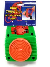 Bicycle Bike Tricycle Accessory Toy Throttle with Motorcycle Sound  New