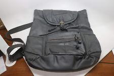 American Eagle Outfitters Women's Black Vinyl Backpack Bag